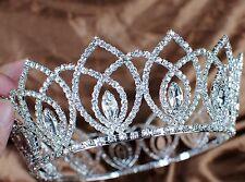 Princess Pageant Tiaras Wedding Bridal Crowns Rhinestones Party Hair Accessories