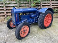 More details for fordson standard n 2wd water washer tractor restoration project.