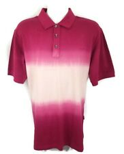 Jeep City 3 Button Mens ss Tye Dye Polo Shirt Sz XXL