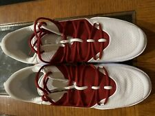 Nike Hyperdunk 2018 X Low Court Mens Size 14 Burgundy/Maroon AT3867-114