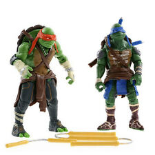 NEW 2018 Teenage Mutant Ninja Turtles Movie TMNT Set of 4 Action Figures Toys E