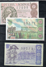 España Loteria Nacional Decimos edición facsímil del año 1945-63 (CU-554)