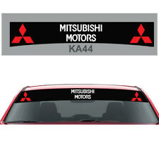 Fits Any Mitsubishi Car Sunstrip Graphics Stickers Decals Windscreen Sun-strip