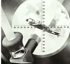 """1943 Wwii Ad~Argus Military Aviation Optics Optical Equipment~""""Eyes for Victory"""""""