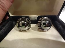 UNUSUAL LINK UP CUFF LINKS THAT REFLECT FOR HIM OR HER GREAT HOLIDAY GIFT