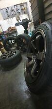 Rota Grid 18x9.5 ET30 and 17x8 5x114.3 Staggered TE37 Bronze + Pirelli P Zero...