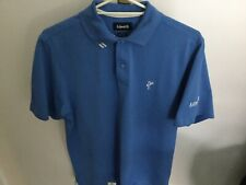 Ashworth Light Blue Golf/casual Polo Shirt M