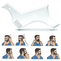 Men's Beard Combs Shaping Styling Tool Comb Transparent for Hair Beards Trim New