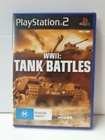 PS2 WWII Tank Battles Inc Manual