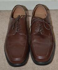 Croft & Barrow Men's Brown Ortholite Lace Up Dress Shoes Size: 11 M