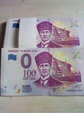 0 Euro Banknote Turkey - Samsun - 19 Mayıs 1919 - Turkey !!! Souvenir o