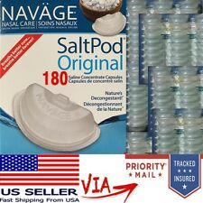 Navage Salt Pods 180CT (For Use in the Navage Nasal System) NEW & SEALED Saltpod