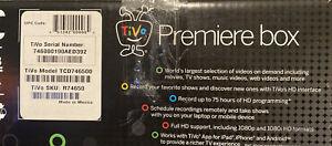 Tivo Premiere Series 4, TCD746500, 500 Gb, 1080P, 75 HD Hours  Open Box READ