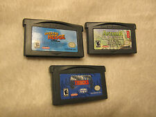 3 Nintendo Game Boy Games: Monster Trucks, Over the Hedge, Arthur and the Invisi