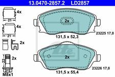 Bremsbelagsatz Scheibenbremse ATE Ceramic - ATE 13.0470-2857.2