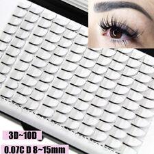 SKONHED 12 Lines 3D~10D Long natural Premade Russian Volume Fans False Eyelashes
