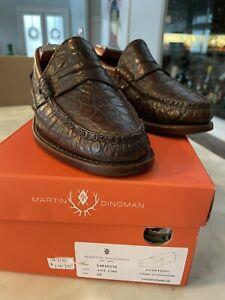 Martin Dingman Jacob American Alligator 10 Worn Twice Handmade Retail $1475