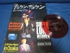 Duran Duran in Japan Book '87 w Flexi Poster New Romantic Arcadia Power Station