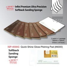 Softback Sanding Sponge-Quick Shine Gloss Polishing #4000 (2pads, 14cm x 10.6cm)