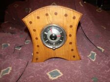 Vintage 1971 USA Folk Art Clock 1955 electric auto car clock conversion KOOL