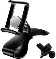 Universal Cell Phone GPS Car Dashboard Mount Holder Stand HUD Ven Clip on Cradle
