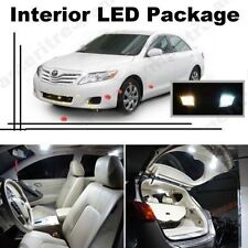 White LED Lights Interior Package Kit for Toyota Camry 2007-11 w/ Sunroof 10 Pcs