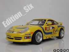 Burago 1:18 1997 PORSCHE 911 CARRERA Race car Model replica