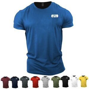 GYMTIER Gym T-Shirt | UK Bodybuilding Top | Gym Clothing Vest Workout Training