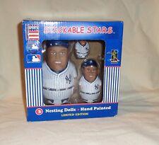 2003 Cooperstown New York Yankees Derek Jeter Stackable Stars Nesting Dolls Set
