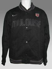 Nuevo Nike para hombre vintage toulouse rugby Universitaria Bomber chaqueta