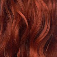 58.4cm à Clip une Pièce Ondulés Bouclés Extension de Cheveux Cuivre 350 1 Pièce