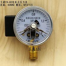 Direct electrical contact pressure gauge YX-60 vacuum gauge pressure gauge