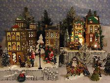 Christmas Snow Village Display Platform Base Dept 56 Lemax Nicholas Square