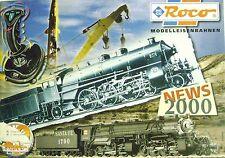 Roco Spur H0 Schriften Kataloge Prospekte  Neuheiten  News 2000