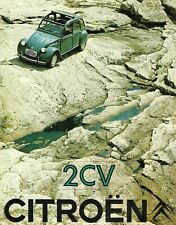 Citroen 2CV 425cc c1968-69 Dutch Market Foldout Sales Brochure