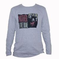 MOTHER LOVE BONE T SHIRT Grey Long Sleeve Metal Grunge Soundgarden Graphic Tee