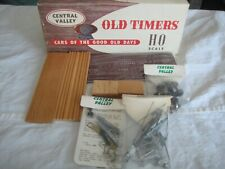 MOBILE & OHIO VENTILATOR CAR, WOOD & METAL KIT, CENTRAL VALLEY, HO, NIB
