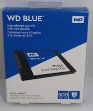NEW WD Blue 500GB Internal SATA SSD - Solid State Drive - 545MB/s Read