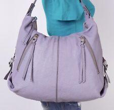KOOBA Extra Large Violet  Leather Shoulder Hobo Tote Satchel Purse Bag