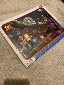 New Puzzle 14 Parts Disney Pixar Toy Story MB Hasbro + 3 Years Child Easy