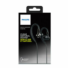 Philips SHS8100 Ear-Hook Headphones Earphones Sport Fitness - Black