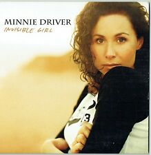 "MINNIE DRIVER - 5"" CD - Invisible Girl (Radio Edit) Promo CD Single.  EMI"