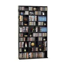 Atlantic Oskar Media Cabinet 1080 CD or 504 DVD or Blu-Ray or Games in Espresso