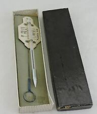 Vintage Taylor Enamel Roast Meat And Poultry Thermometer