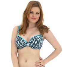 27b0a6d2ce51c Curvy Kate Coco LOCO Tie Side Bikini Bottoms Topaz Sizes 8 - 22 Plunge -  34ff
