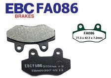EBC Pastiglie Dei Freni Pastiglie Freno fa086 anteriore MEGELLI 125 R (Sportbike) 08-10