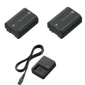2pcs NP-FZ100 + BC-QZ1 battery for sony ILCE-9 A9 A7RM3 A7RIII A7R3 2280mah
