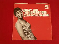 SHIRLEY ELLIS~THE CLAPPING SONG~ SLEEVE ONLY~ NEAR MINT~ RARE~ CONGRESS~ SOUL