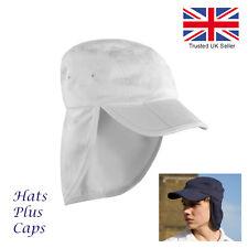Legionnaire Cap Sun UV Protection 100% Cotton Men's Women's Hat 8 Colours