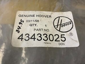 """Hoover Canister Vacuum 43433025 """"new"""" Power Hose Nozzle- hose is NLA"""